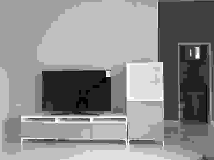 대전 Prefabricated Kit Home 모던스타일 거실 by 제타힐 모던