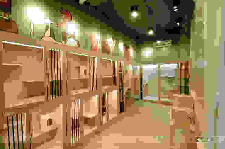 毛小孩旅館 根據 寬森空間設計 鄉村風