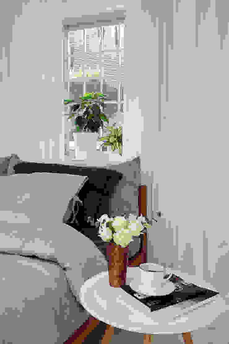 연남동 집 복층 빌라 인테리어 모던스타일 침실 by 노르딕앤 모던