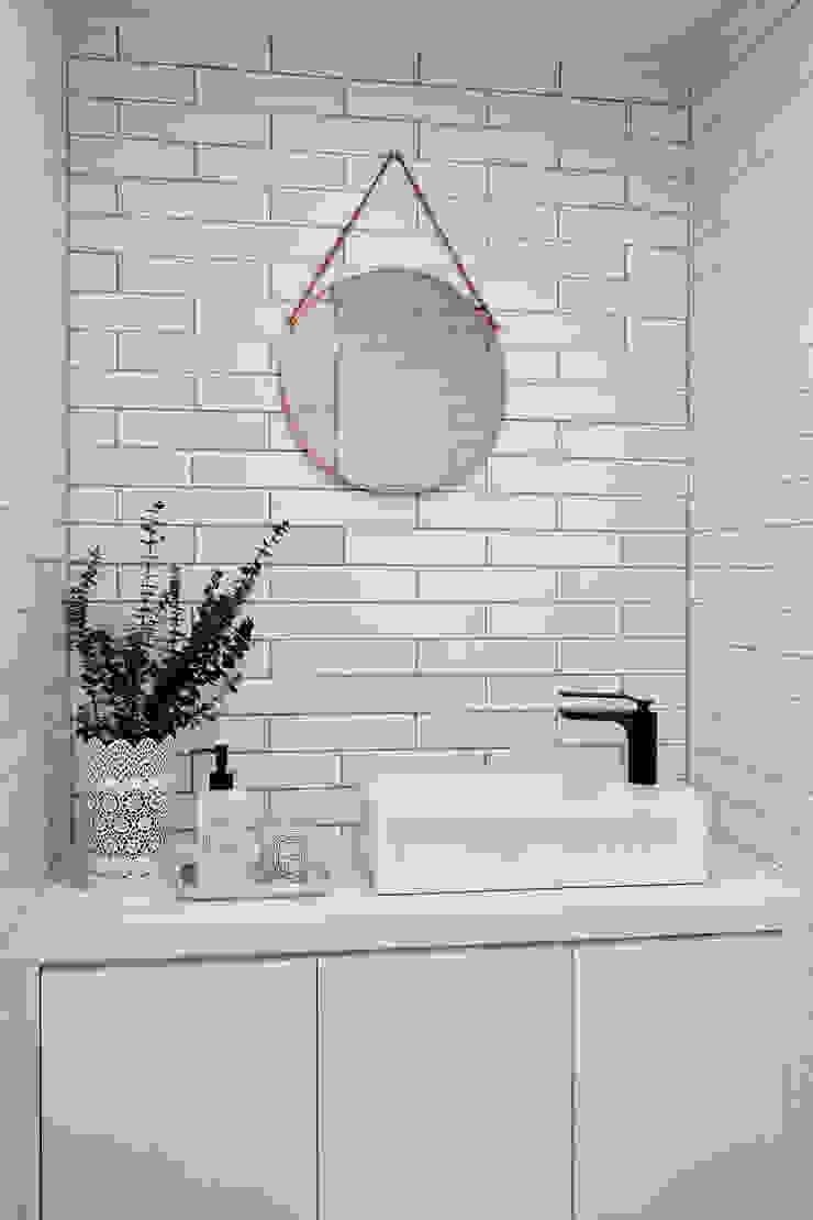 연남동 집 복층 빌라 인테리어 모던스타일 욕실 by 노르딕앤 모던