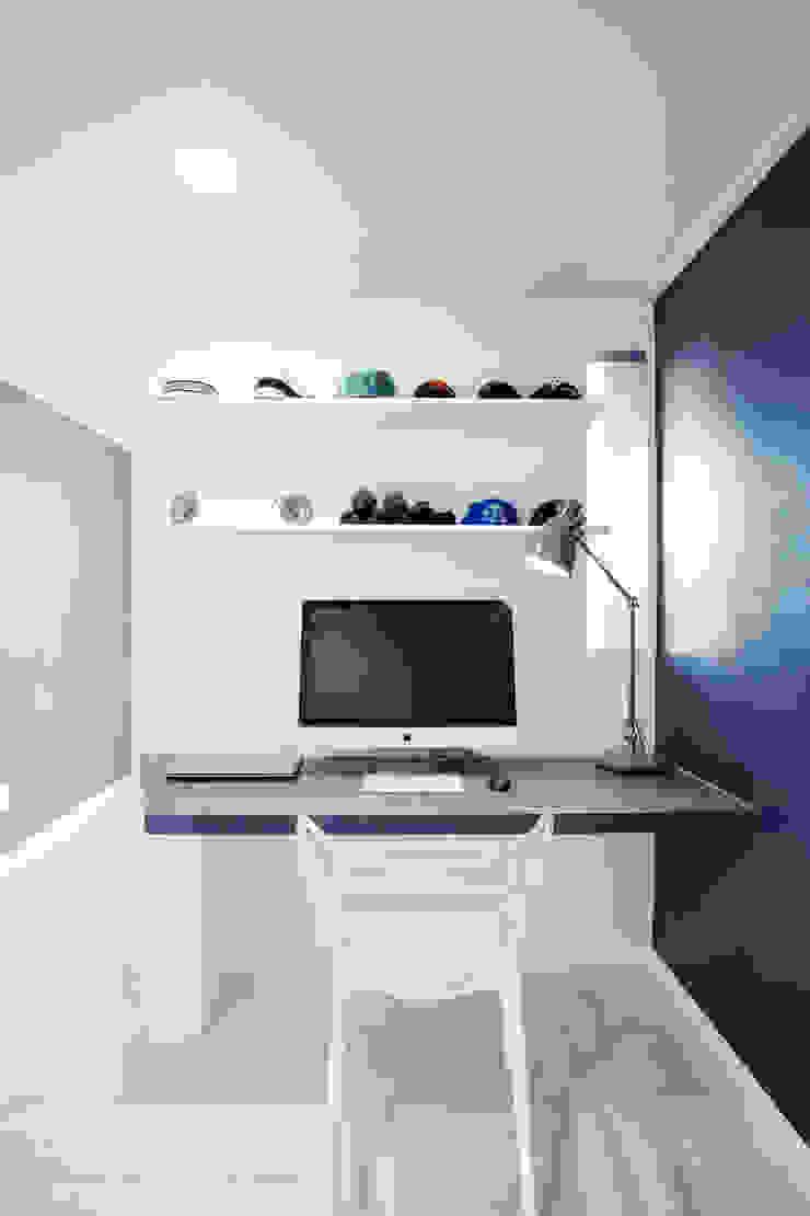동탄 아파트 인테리어 프로젝트 모던스타일 미디어 룸 by 건축사사무소 사무소아홉칸 모던