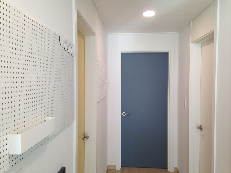 미사강변도시 신축아파트 인테리어 프로젝트 모던스타일 거실 by 건축사사무소 사무소아홉칸 모던