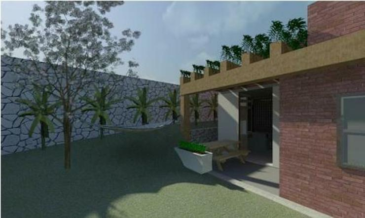 Jardines de estilo moderno de Arquitetura Ecológica Moderno