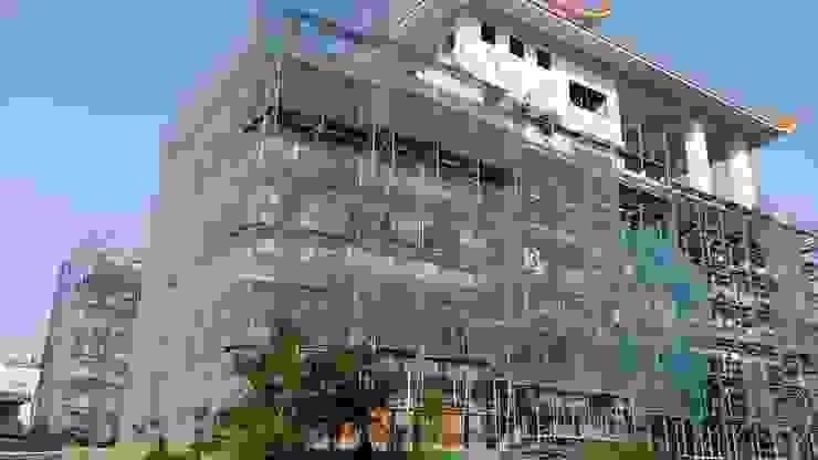 台灣桃園市湧光禪寺外牆內牆新建工程 根據 Advanced Building Materials International Co.,Ltd.