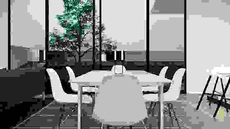 Comedor Comedores de estilo moderno de Jaime Quintero Diseño Moderno