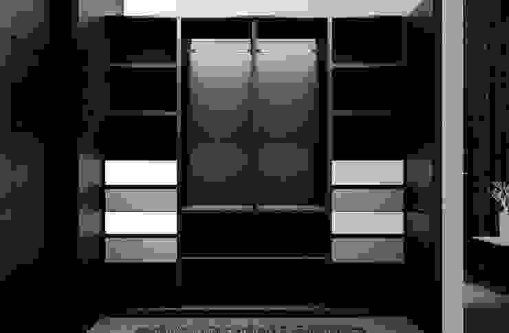 Vestier: Vestidores de estilo  por Jaime Quintero Diseño, Moderno