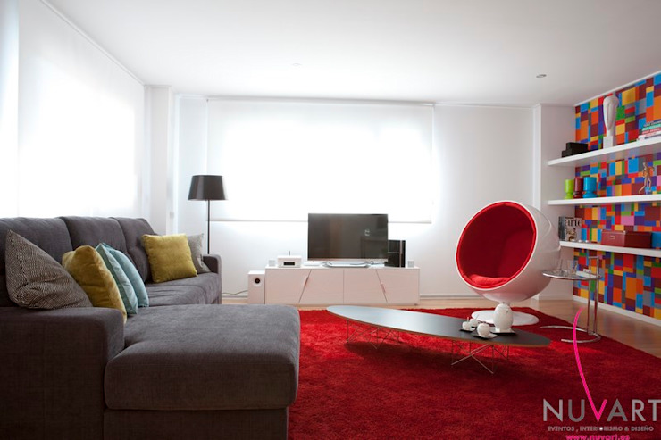 NUVART Modern living room