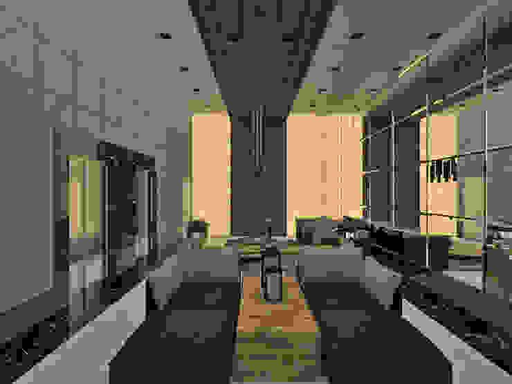Studio Diego Duracenski Interiores 現代風玄關、走廊與階梯 實木 Wood effect