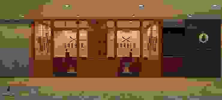 งานออกแบบร้านตัดผม.: คลาสสิก  โดย DesignOne Bkk, คลาสสิค