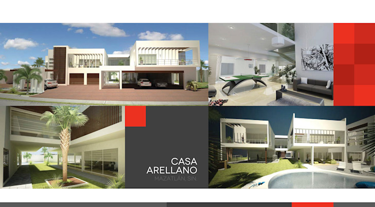 Casa Arellano : Casas de estilo  por 360arquitectura