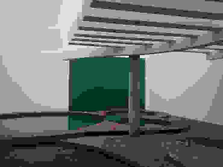 Alberca: Terrazas de estilo  por Mevisa Construcciones,