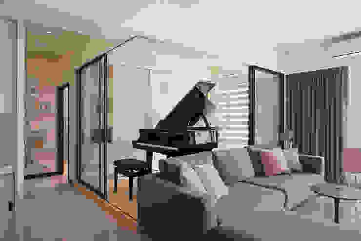 鋼琴房 根據 趙玲室內設計 現代風