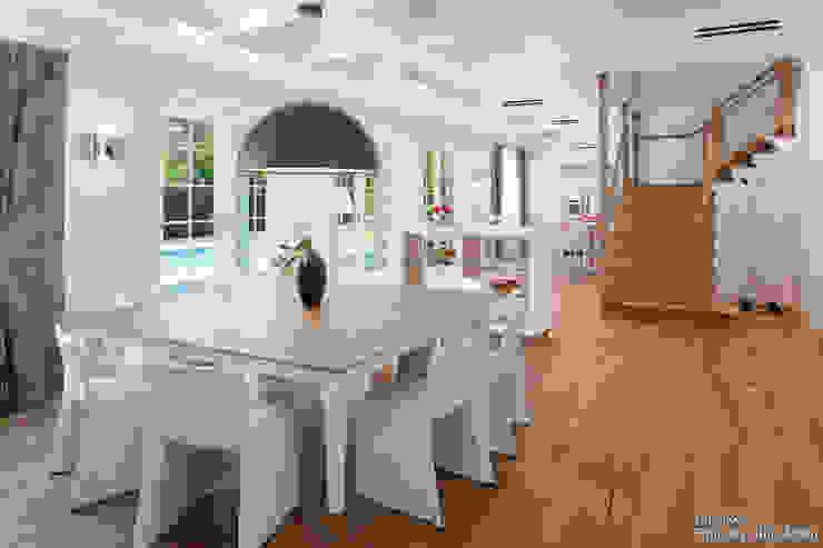 Modern dining room by Chibi Moku Modern Concrete
