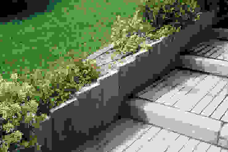 to create stairs... Jardines rurales de Fabistone Rural