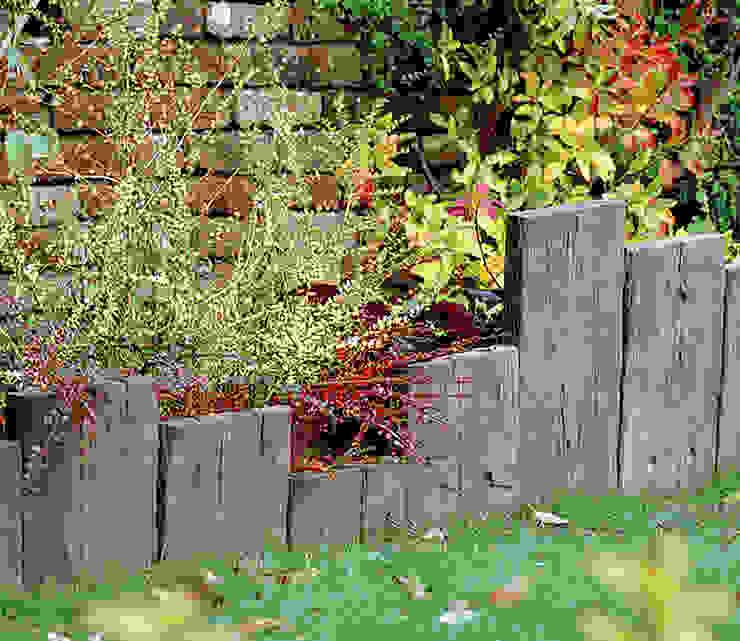 Travessa Teca para criar pequenas divisões Jardins campestres por Fabistone Campestre