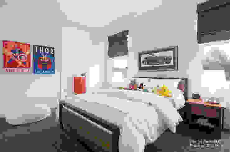 Phòng ngủ phong cách hiện đại bởi Chibi Moku Architectural Films Hiện đại Bê tông