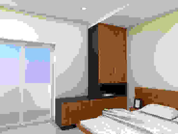 Guest Bed Room - Wardrobe Minimalist bedroom by homify Minimalist Plywood