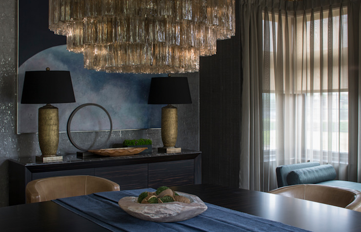 Broad Walk Dining Room Roselind Wilson Design Comedores de estilo moderno
