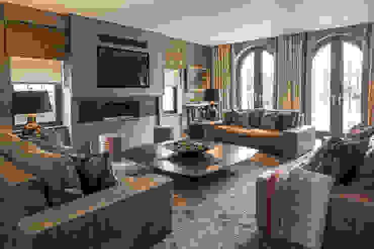 Broad Walk Living Room Roselind Wilson Design Livings de estilo moderno