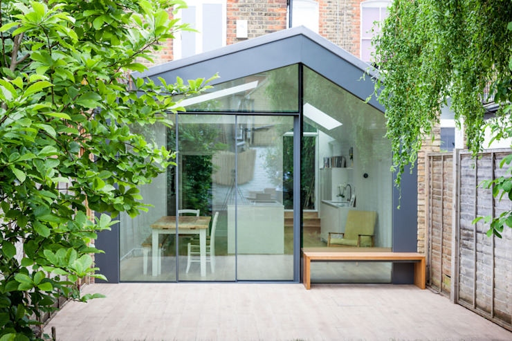 Kitchen by Thomas & Spiers Architects, Modern Aluminium/Zinc