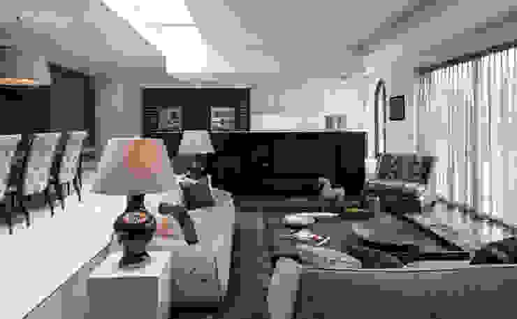Broad Walk Informal Living Room Roselind Wilson Design Livings de estilo moderno