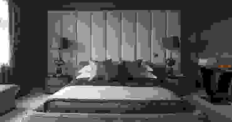 Broad Walk Master Bedroom Roselind Wilson Design Dormitorios de estilo moderno