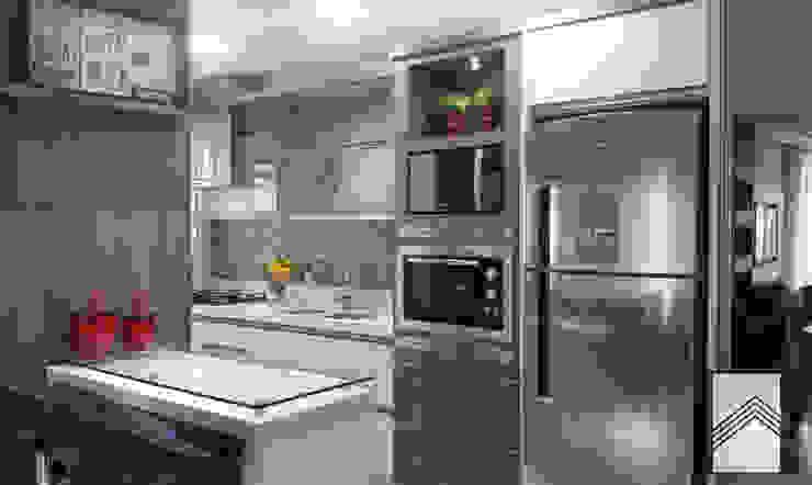 Cocinas de estilo  por Abitarte - Arquitetura e Interiores,