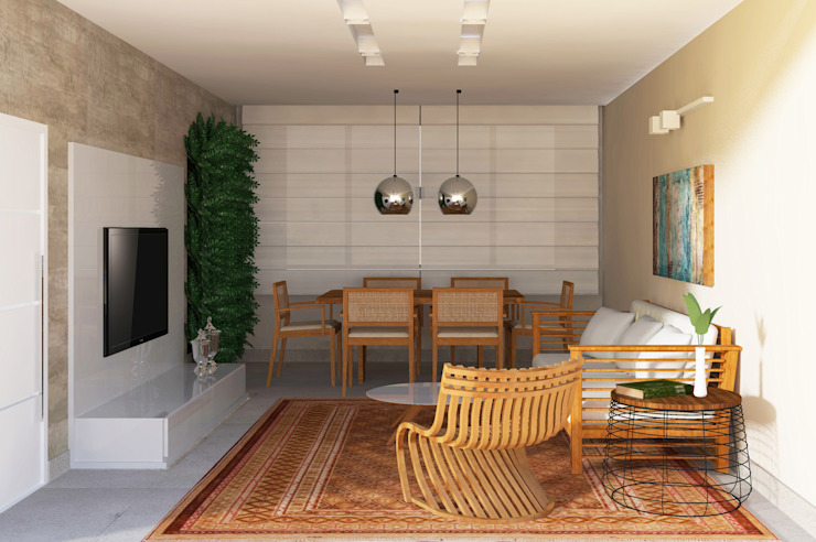 Sala Salas de estar modernas por homify Moderno
