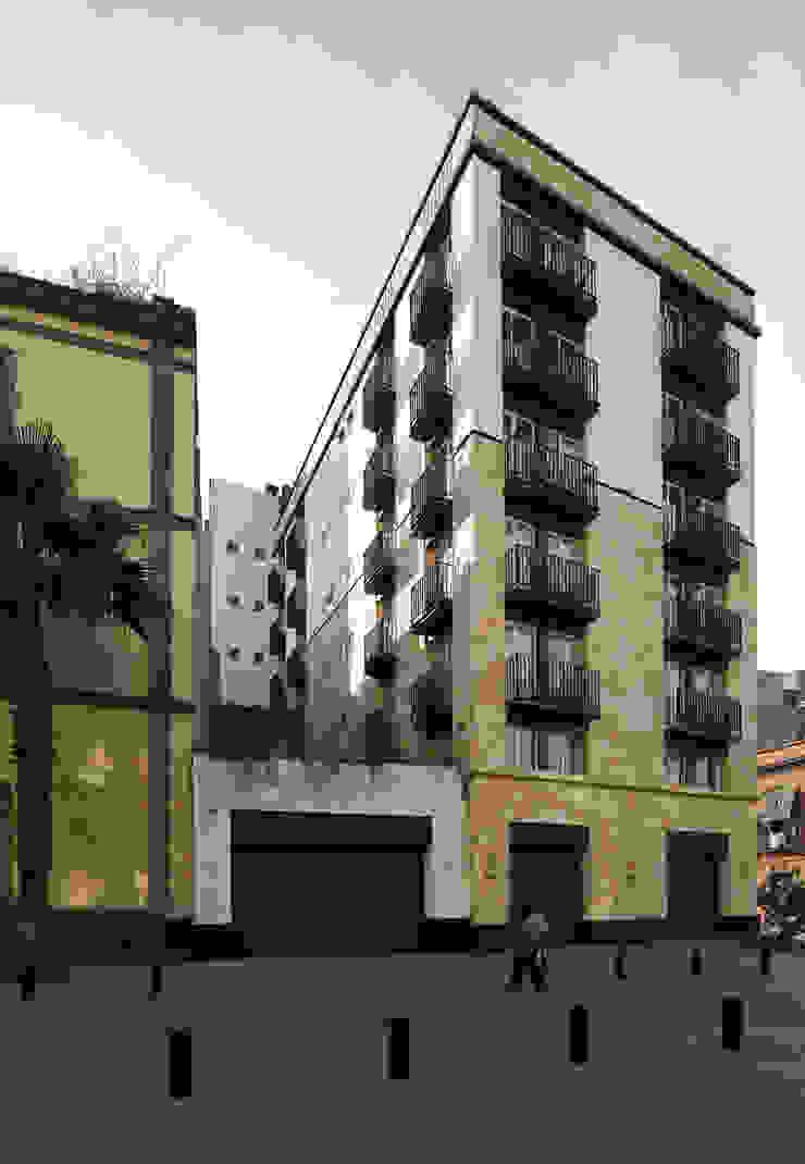 Modern Houses by Boué Arquitectos Modern Concrete
