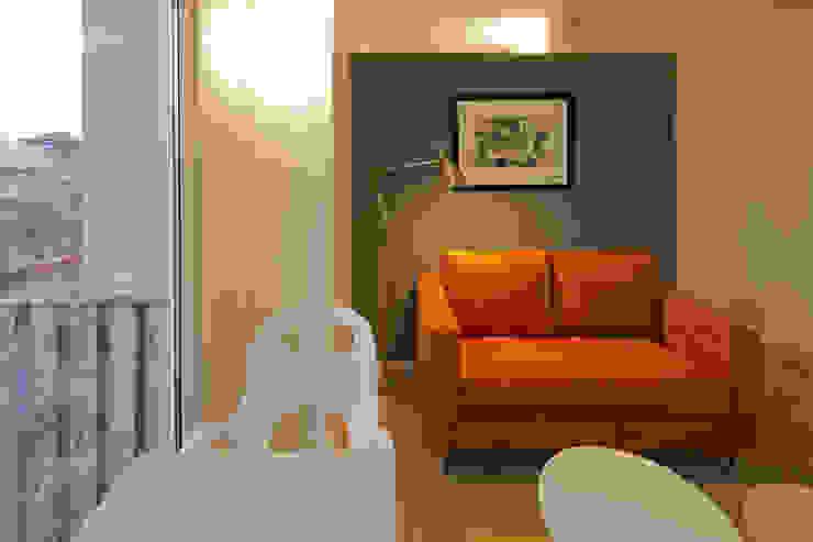Modern Living Room by Boué Arquitectos Modern Concrete