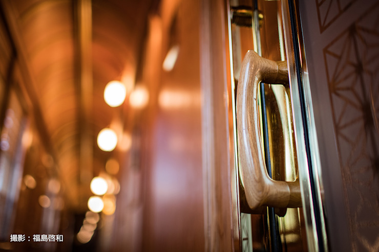Kyushu JR Line Seven Stars Train すがたかたち Windows & doors Doorknobs & accessories Wood