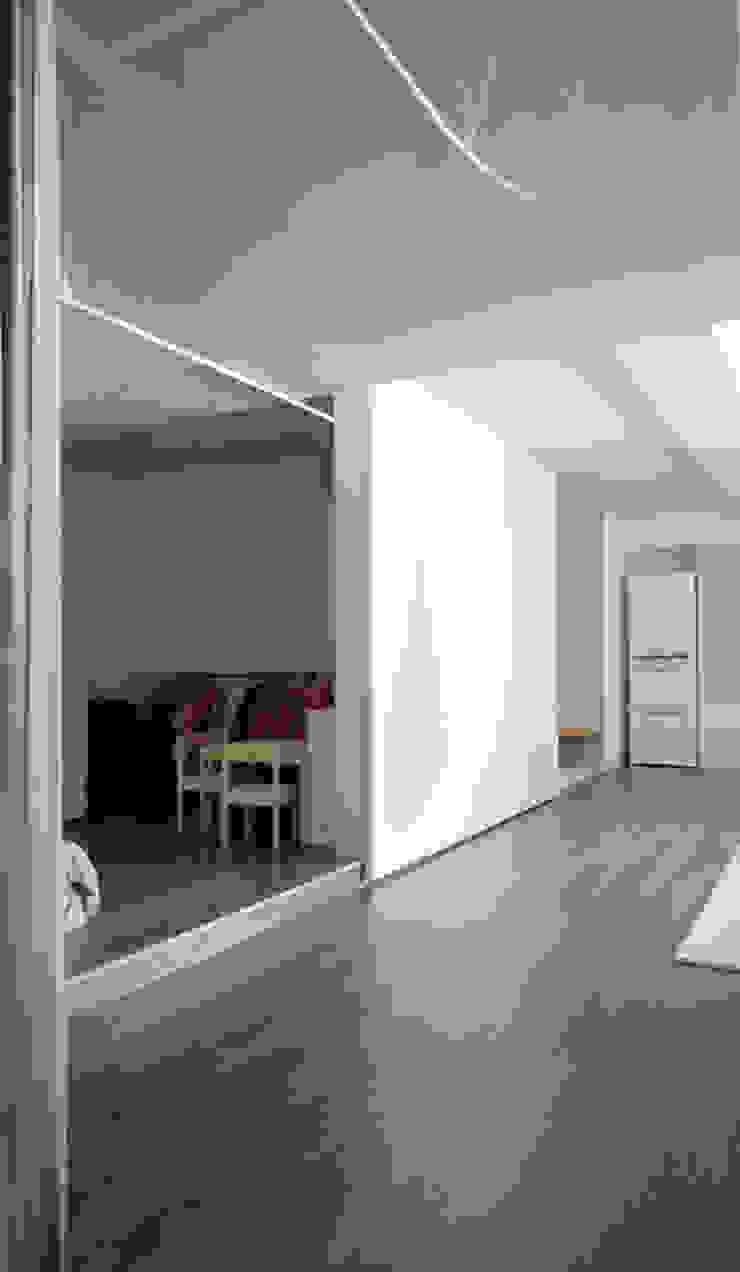 House without Walls 林宅 斯堪的納維亞風格的走廊,走廊和樓梯 根據 構築設計 北歐風