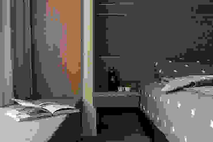 Modern style bedroom by 齊家。空間設計 Modern