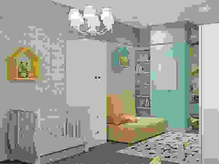 غرفة الاطفال تنفيذ ДизайнМастер, كلاسيكي