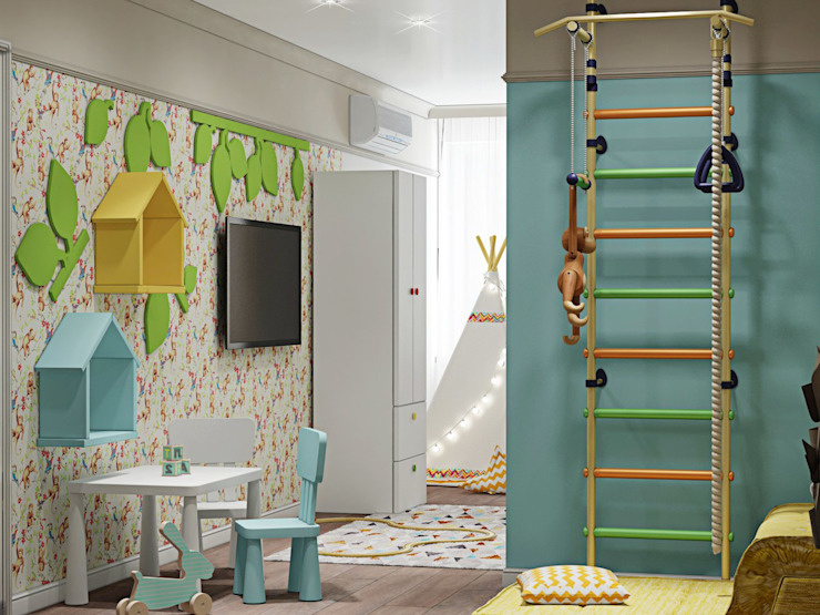ДизайнМастер Nursery/kid's room Turquoise