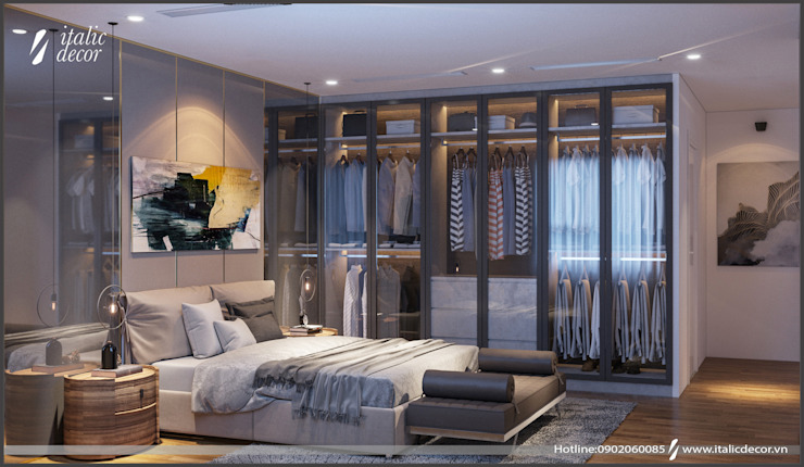 Modern Bedroom by homify Modern