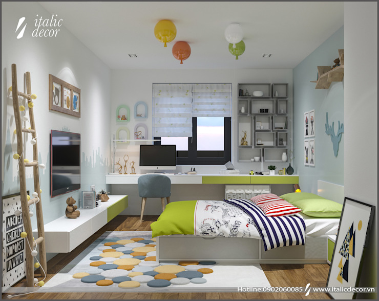 Modern nursery/kids room by homify Modern