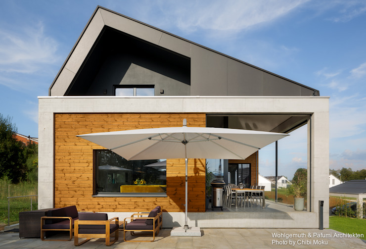 Modern home by Chibi Moku Architectural Films Modern Concrete