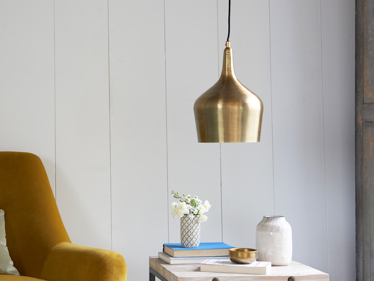 Foundry in Brass: modern  by Loaf, Modern