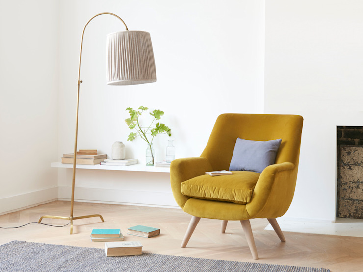 Slam Dunk floor lamp in Brass de Loaf Moderno