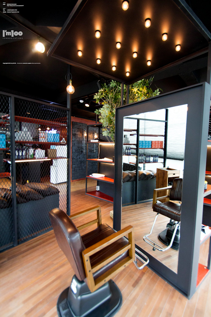 HOPE Premium HAIR SALON 서래마을 인테리어 by im100 communications 모던