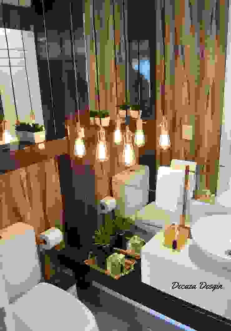 Um Lavabo Impactante DecaZa Design BathroomTextiles & accessories Paper Multicolored