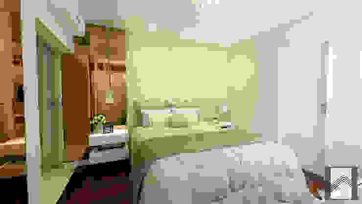 Dormitorios de estilo moderno de Abitarte - Arquitetura e Interiores Moderno