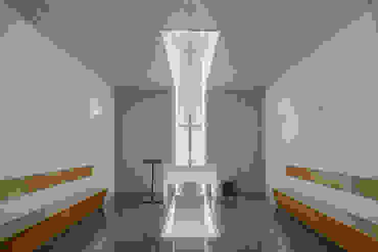 Bureau minimaliste par Plano Humano Arquitectos Minimaliste Béton