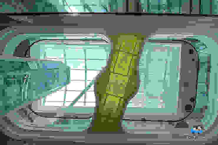 琴森林主燈 根據 植建築 鉅凱建築師事務所/原果室內創研設計 現代風