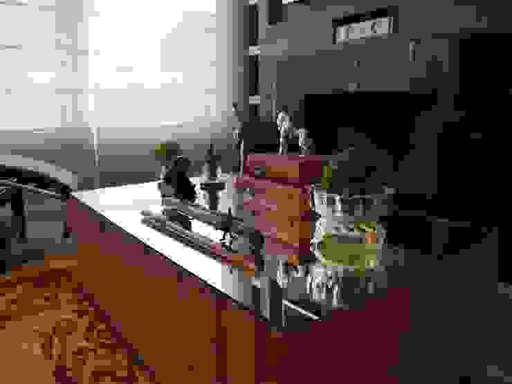 Contemporaneidade e Integração de Espaços na Sala de Estar DecaZa Design Living roomAccessories & decoration