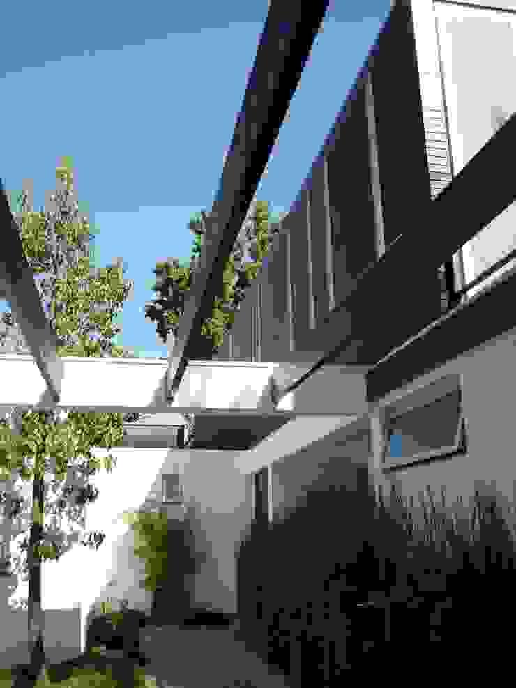 Casa Joullié Casas de estilo minimalista de Claudia Tidy Arquitectura Minimalista Madera Acabado en madera