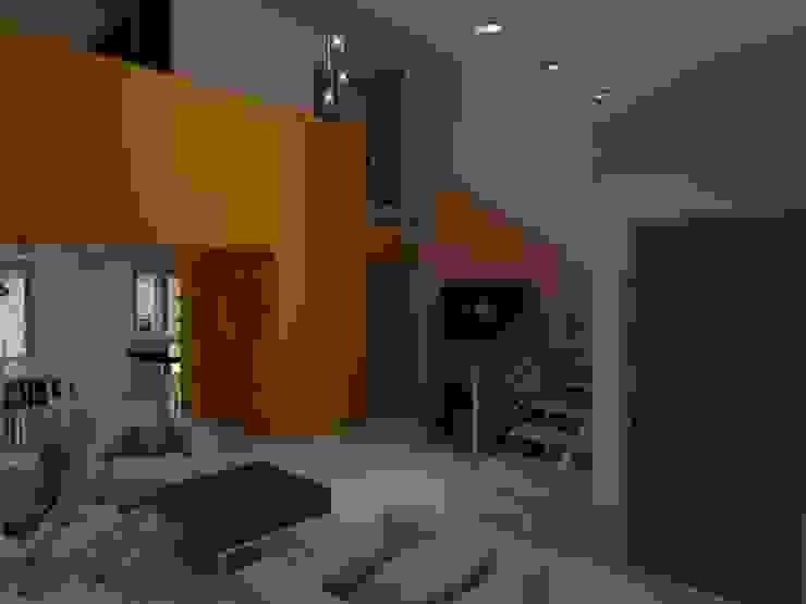 Living Salas de estilo ecléctico de Gastón Blanco Arquitecto Ecléctico