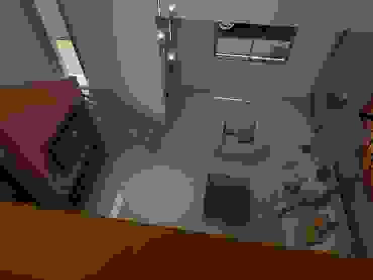 Vista Superior Living Salas de estilo ecléctico de Gastón Blanco Arquitecto Ecléctico