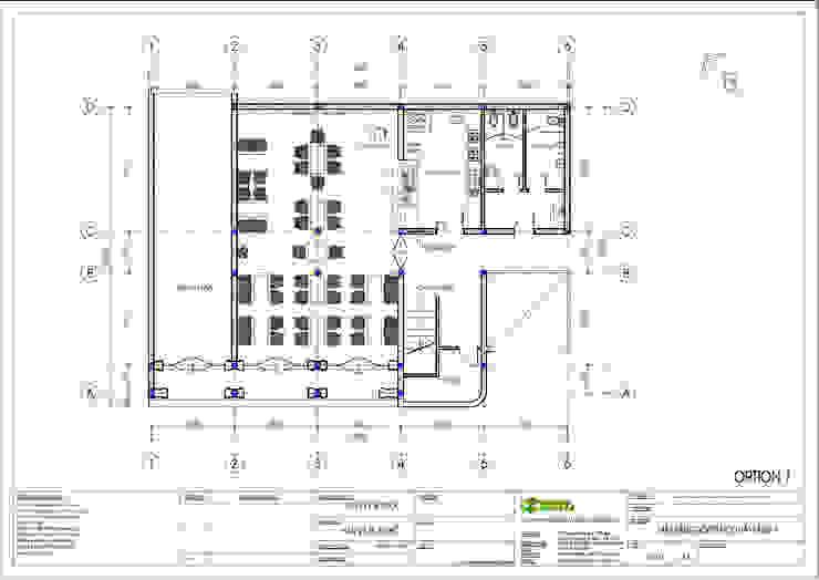 Mặt bằng tầng 1: cổ điển  by Công ty TNHH Thiết kế và Ứng dụng QBEST, Kinh điển